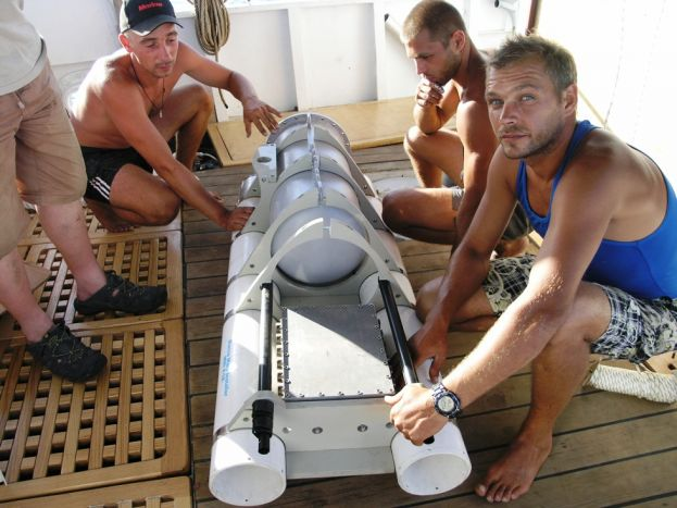 May-September, 2014 - Testing of AUV X-3A and the Vessel Equipment